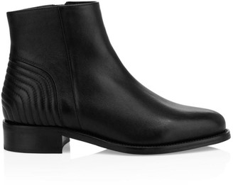 Aquatalia Neela Leather Ankle Boots