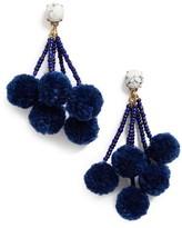 BaubleBar Women's Caicos Pompom Drop Earrings