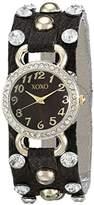 XOXO Women's XO3392 Analog Display Analog Quartz Brown Watch