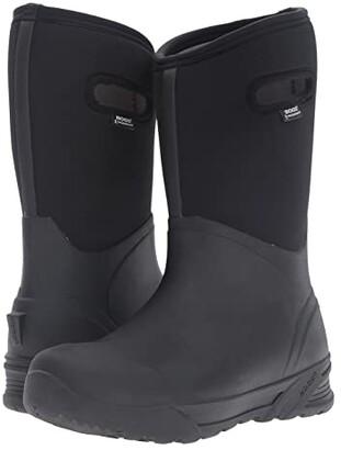 Bogs Bozeman Tall Boot (Black) Men's Waterproof Boots