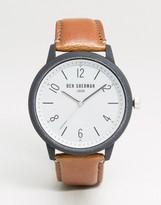 Ben Sherman WB050WT Leather Watch In Tan