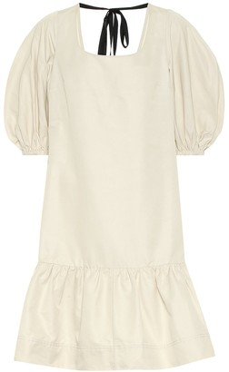 Lee Mathews Reo cotton and silk minidress