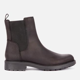 Clarks Women's Orinoco 2 Top Leather Chelsea Boots - Black