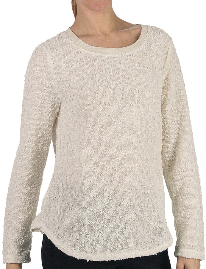 @Model.CurrentBrand.Name Dylan Nubby Boucle Sweater (For Women)
