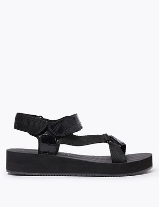 Marks and Spencer Leather Strappy Open Toe Sandals