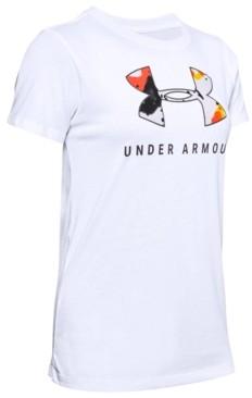 Under Armour Women's Printed-Logo T-Shirt
