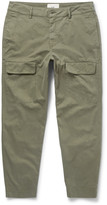 Folk - Slim-fit Tapered Cotton Cargo Trousers