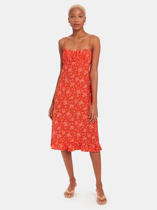 Maeve Davis Midi Dress