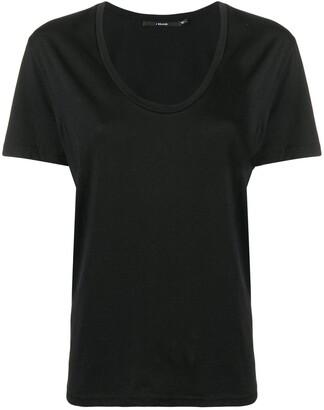 J Brand scoop neck short sleeved T-shirt