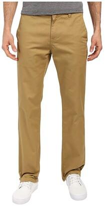 Volcom Frickin Modern Stretch Chino (Dark Khaki) Men's Casual Pants