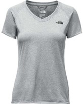 The North Face Women's Short Sleeve Reaxion Amp V-Neck
