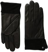 Lauren Ralph Lauren Suede Cuff Thinsulate Gloves