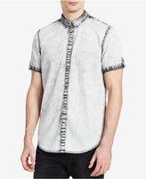 Calvin Klein Jeans Men's Marble Gray Denim Shirt