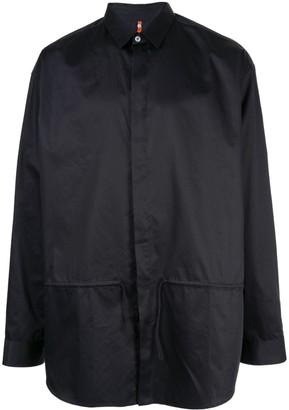 Oamc oversized drawcord shirt