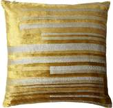 Kevin OBrien Kevin O'Brien Stripe Velvet Pillow