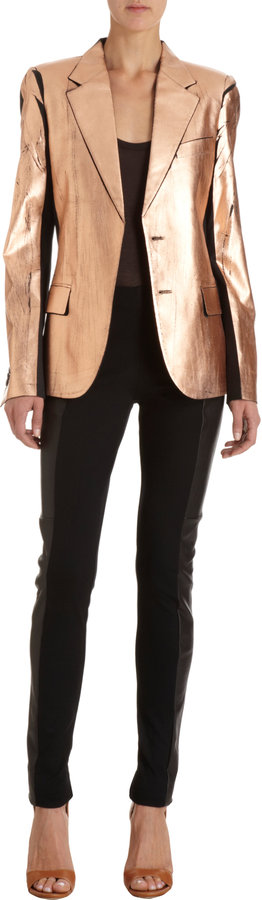 Maison Martin Margiela Metallic Front Jacket