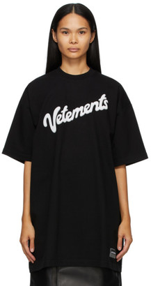 Vetements Black Sweet Logo T-Shirt