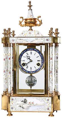 One Kings Lane Vintage Mantel Clock - La Maison Supreme