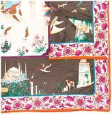 Salvatore Ferragamo road voyage print scarf