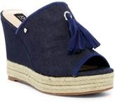 Jones New York Ariel Tassel Platform Wedge Sandal