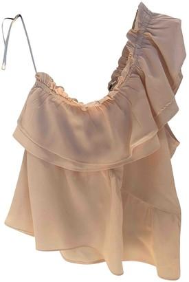 IRO Pink Silk Tops