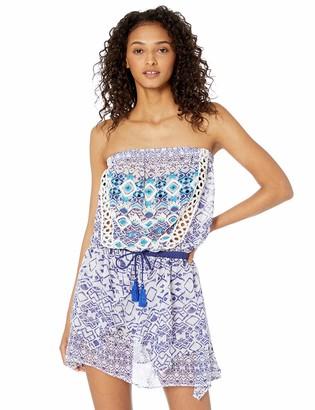 Ramy Brook Women's Printed Salima Strapless Mini Dress