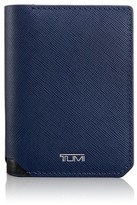 Tumi Men's 'Mason' Embossed Calfskin Leather Wallet - Black