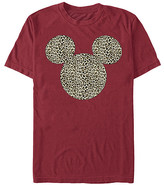 Fifth Sun Tee Shirts CARDINAL - Cardinal Cheetah Mickey Mouse Ears Tee - Adult