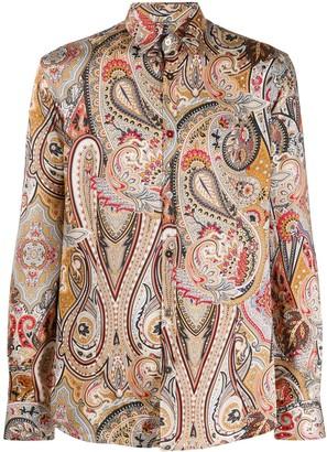 Daniele Alessandrini paisley-print shirt