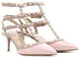 Valentino Rockstud Patent Leather Sandals