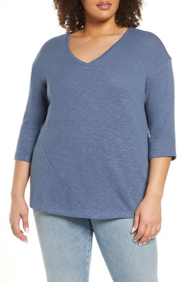 Caslon Dolman Sleeve Cotton Top