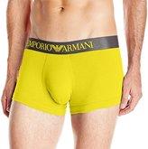 Emporio Armani Men's Iconic Logoband Stretch Cotton Trunk