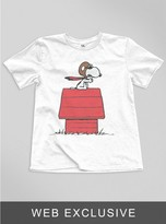 Junk Food Clothing Kids Boys Snoopy Pilot Tee-elecw-l