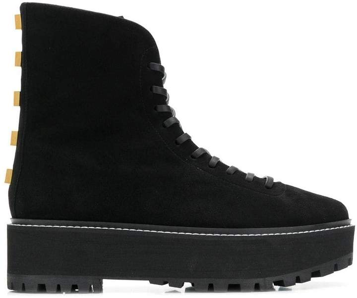 Stuart Weitzman platform boots