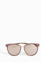 Linda Farrow Luxe Square Contrast Sunglasses