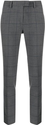 Incotex Grey Slim-Leg Trousers