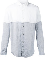 Eleventy Dandy shirt - men - Linen/Flax - 41