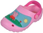 "Peppa Pig Girls' ""Sunshine Scene"" Clogs"