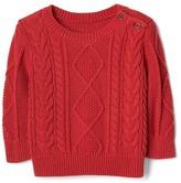Gap Aran cable knit sweater