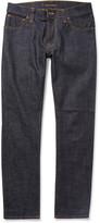 Nudie Jeans Thin Finn Slim-Fit Organic Dry Denim Jeans
