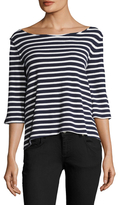 Free People Cannes Striped Top