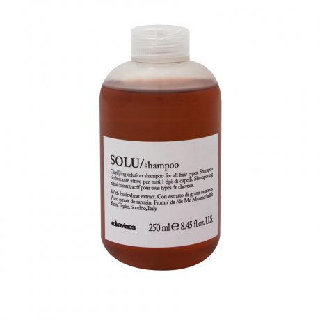 Davines SOLU Shampoo - Clarifying Solution For All Hair Types