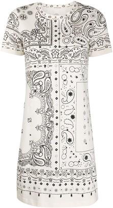 Tory Burch bandana-print T-shirt dress