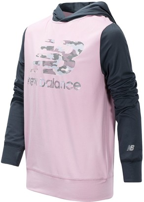 New Balance Girls 7-16 Pullover Hoodie