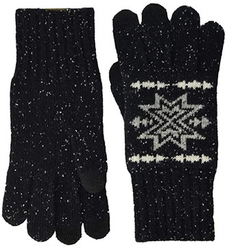 Pendleton Lambs Wool Gloves (Plains Star Charcoal) Dress Gloves