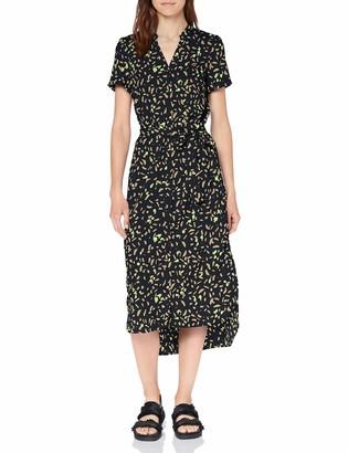 Vero Moda Women's Vmnatasia Dalion S/s Shirt Dress Exp