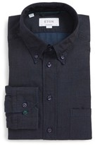 Eton Men's Slim Fit Chambray Dress Shirt