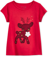 First Impressions Graphic-Print T-Shirt, Baby Girls (0-24 months), Only at Macy's