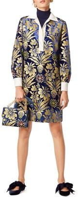 Tory Burch Thelma Floral Print Shift Dress