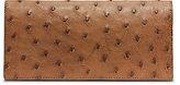 Michael Kors Ostrich Pocket Wallet